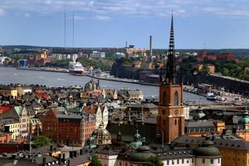 Stockholmsutflykt iland: Stockholm Grand Tour med buss och båt