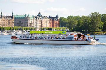 Tour in barca Hop-On Hop-Off della città di Stoccolma
