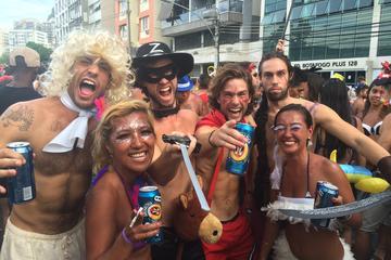 Découverte du carnaval: fête de quartier de Rio de Janeiro