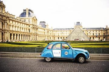 Excursão particular: excursão de 2CV pelos Champs Élysées em Paris