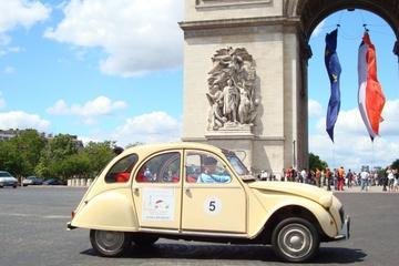 Privat rundtur: Rundtur med Paris största sevärdheter i en 2CV