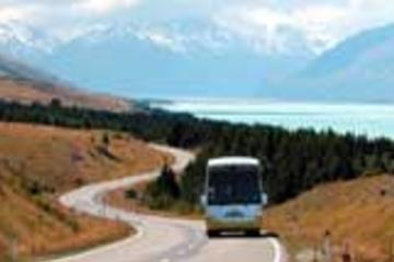 Christchurch nach Queenstown über Mount Cook - nur Hinfahrt