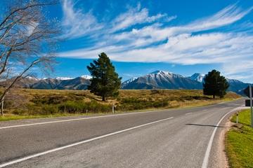 Excursão de um dia de Queenstown para Christchurch pelo Monte Cook