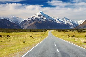 Tour von Mount Cook nach Christchurch