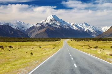 Tour von Queenstown zum Mount Cook
