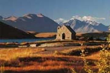 Von Christchurch nach Wanaka über Mount Cook - nur Hinfahrt