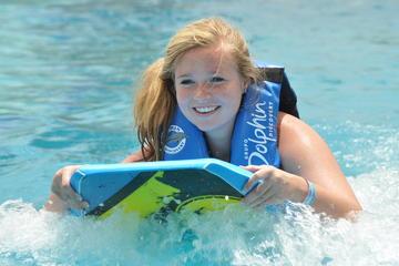 Dolphin Swim Adventure at Aquaventuras Park with E