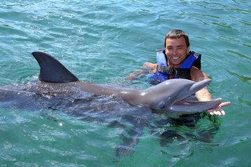 Programa Dolphin Encounter em Isla Mujeres, Cancun