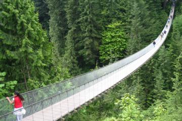 Vancouver– Tagesausflug ans Nordufer, die Capilano Suspension Bridge...
