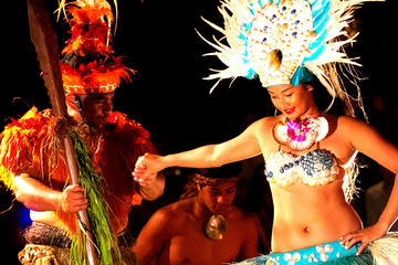 Cook Islands Cultural Village Tour with Night Show and Buffet Dinner...
