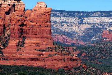 Excursion en jeep dans les principales roches rouges de Sedona...