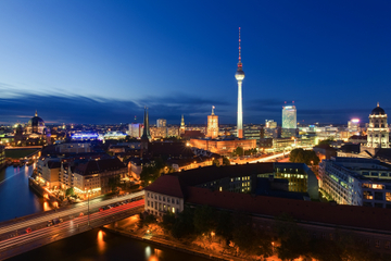 Excursion culinaire en vélo dans Berlin en soirée
