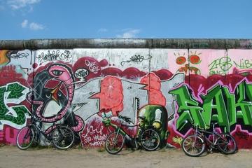 Visite de Berlin à vélo: le mur de Berlin et la Guerre froide