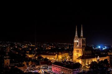 Zagreb By Night Express Private Walking Tour