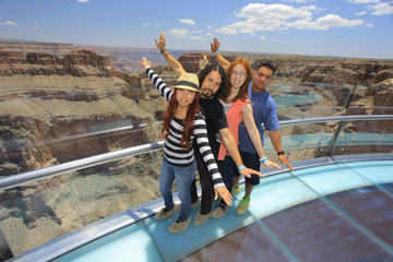 Dagstur fra Las Vegas til Grand Canyon og Hooverdammen, pluss valgfri...