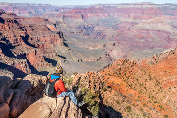 Grand Canyon South Rim-busstur med...