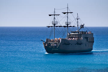 Black Pearl Pirate Ship from Protaras Hotels