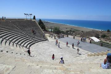 History Mythology Culture at Limassol and Kourion in German from Paphos