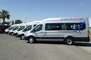 Shared shuttle transfer from Paphos Airport to Hotels