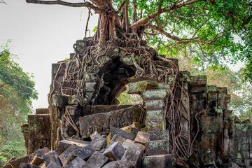 01 Day - Beng Mealea Remote temple, Phnom Kulen and 1000 Linga River