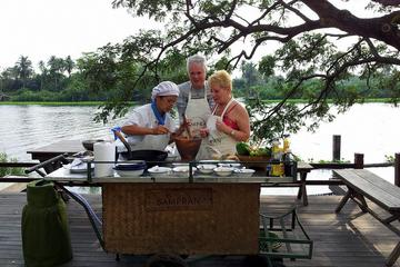 Private Tour: Organic Farm and Thai Cooking at Sampran Riverside from...