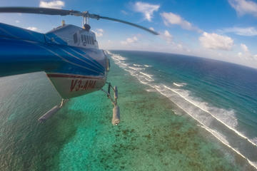 San Pedro, Ambergris Caye and Reef Helicopter Tour