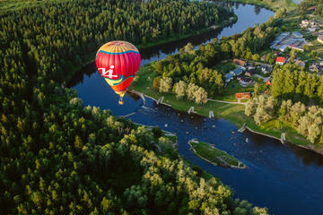 Hot Air Balloon Flight Over Sigulda...