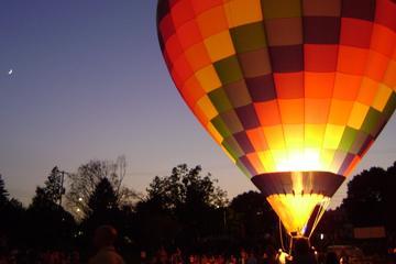 Vilnius Hot Air Balloon Flight at Night