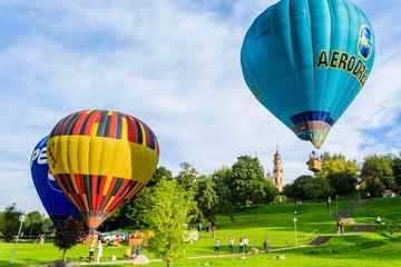 Vilnius Hot Air Balloon Flight in Higher Altitude