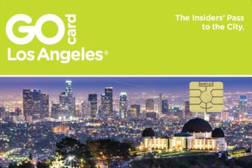 Day Trip Go Los Angeles Card near Los Angeles, California