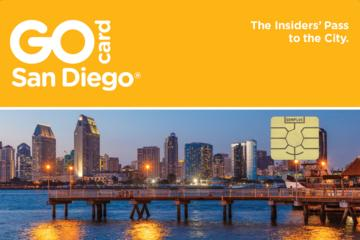 """Go San Diego""-Karte"