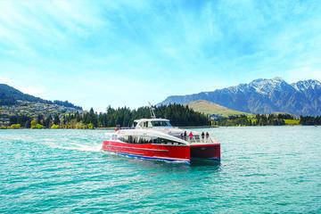 Crucero en catamarán por el lago Wakatipu desde Queenstown
