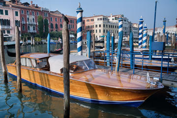 Venice private motorboat tour of the Grand Canal