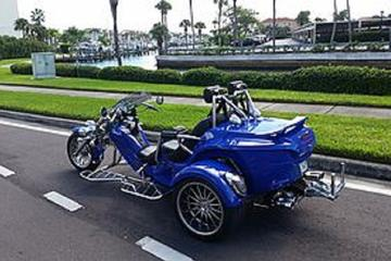 Saint Petersburg and Clearwater Beaches Tour by Motorbike