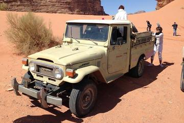 Private Tour: Wadi Rum Jeep and Camel Adventure from Petra