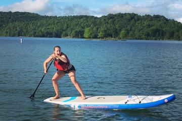 Private Paddleboard Lesson Summerville Lake WV