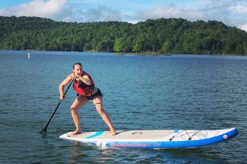 Summerville Lake Paddleboard Lesson In West Virginia
