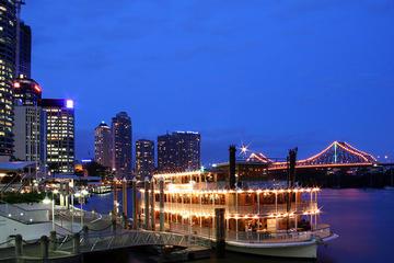 Bootsfahrt über die Wasserwege Brisbanes (inklusive Abendessen)