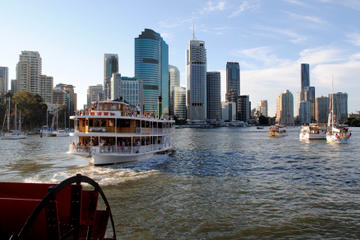 Bootsfahrt über die Wasserwege Brisbanes mit Mittagessen
