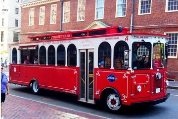 Beantown Trolley-Tour durch Bosten ...