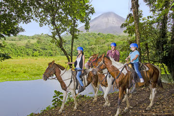 Arenal Volcano River Horseback Riding...