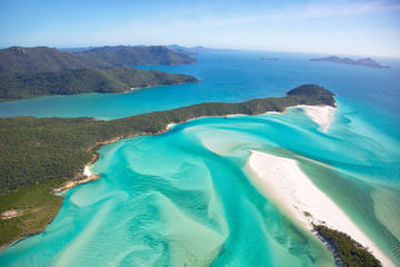 Whitehaven Beach and Hamilton Island...