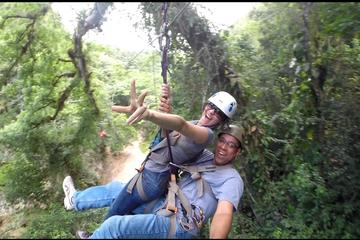 5 in 1 Zip Line: Samana Zip Line, Waterfalls, Beach, Culture Tasting and Lunch