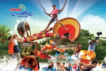 One-Day Pass: Sunway Lagoon Malaysia