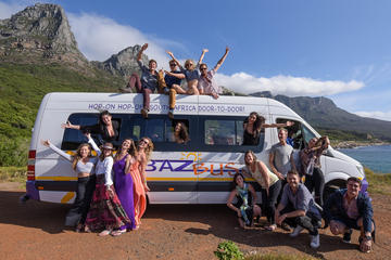 7 Day Pass Hop-on Hop-off Bus from Johannesburg to Cape Town