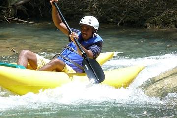 Aventura por Jamaica en tirolina y kayak por el río Great River