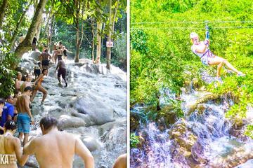 Chukka's Dunn's River Climb And Zipline Over The Falls (From Montego Bay)