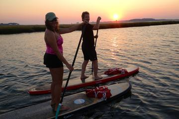 Sunset Paddleboard Excursion on Rehoboth Bay