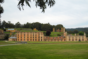 Großer historischer Stadtrundgang durch Port Arthur ab Hobart