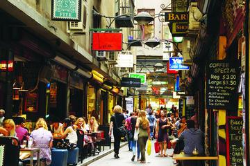 Tour por los pasajes y callejuelas de la ciudad de Melbourne de medio...